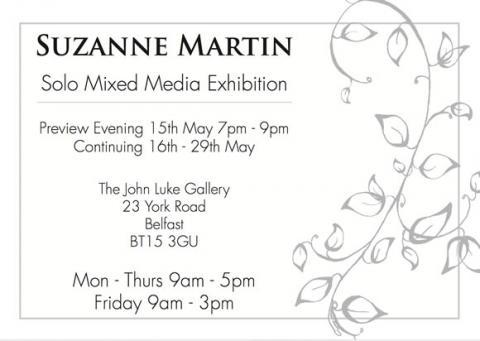 Suzanne Martin Exhibition