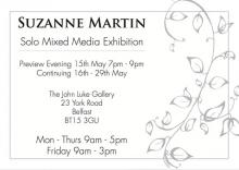 Suzanne Martin Exhibition